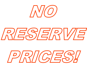 NO RESERVE PRICES!